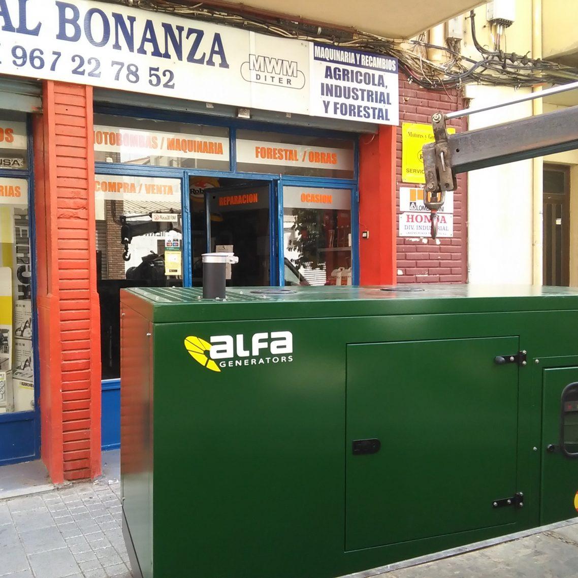 generador insonorizado 1